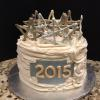 Happy New Year! Coconut Cream Cake With Lemon Curd Filling And Vanilla ButterCream Frosting