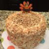Italian Cream Cake w/Cream Cheese ButterCream Filling/Frosting and Toasted Pecans/ Coconut!