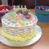 This is one of two Easter Cakes I made and donated for Teacher's Appreciation Day at Sandy Ridge Elementary School.  It is my Signature Vanilla Cake with Lemon/Raspberry Filling.